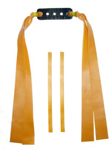 2 Fach Sportschleuder-Theraband gold