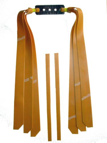 3 Fach Sportschleuder-Theraband gold