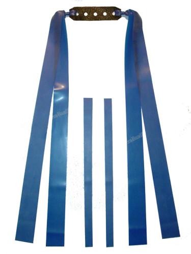 2 Fach Sportschleuder-Theraband blau