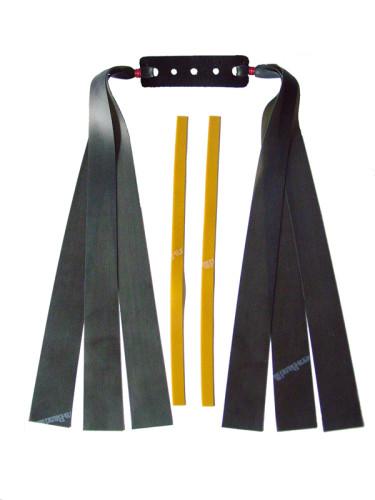 3 Fach Sportschleuder-Theraband schwarz